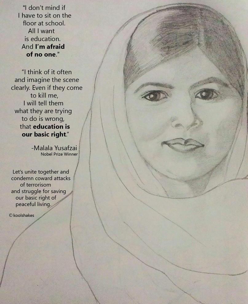 Malala by KoolShakes
