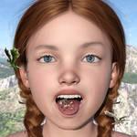 Glumdalclitch in Lilliput