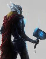 Thor by chuumink