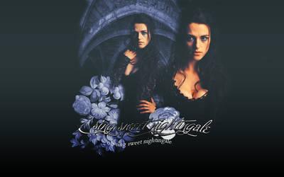 Nightingale Morgana Wallpaper by MyseryLuvsCompany
