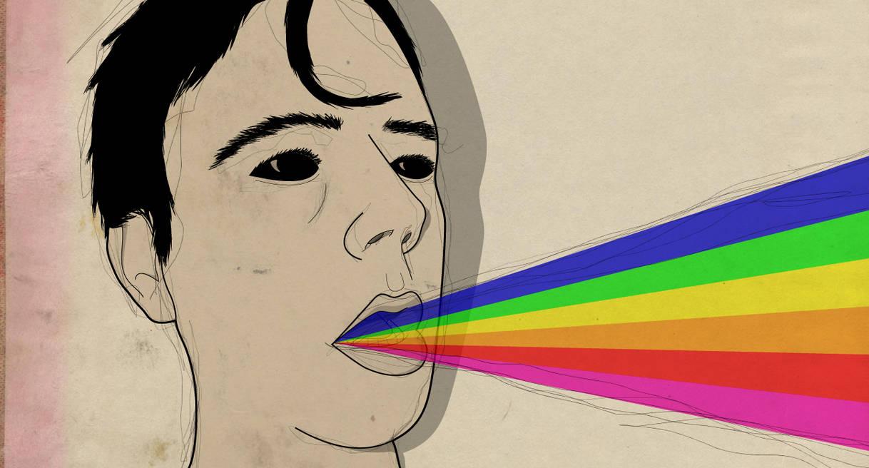 Bulimic rainbows vomit what?