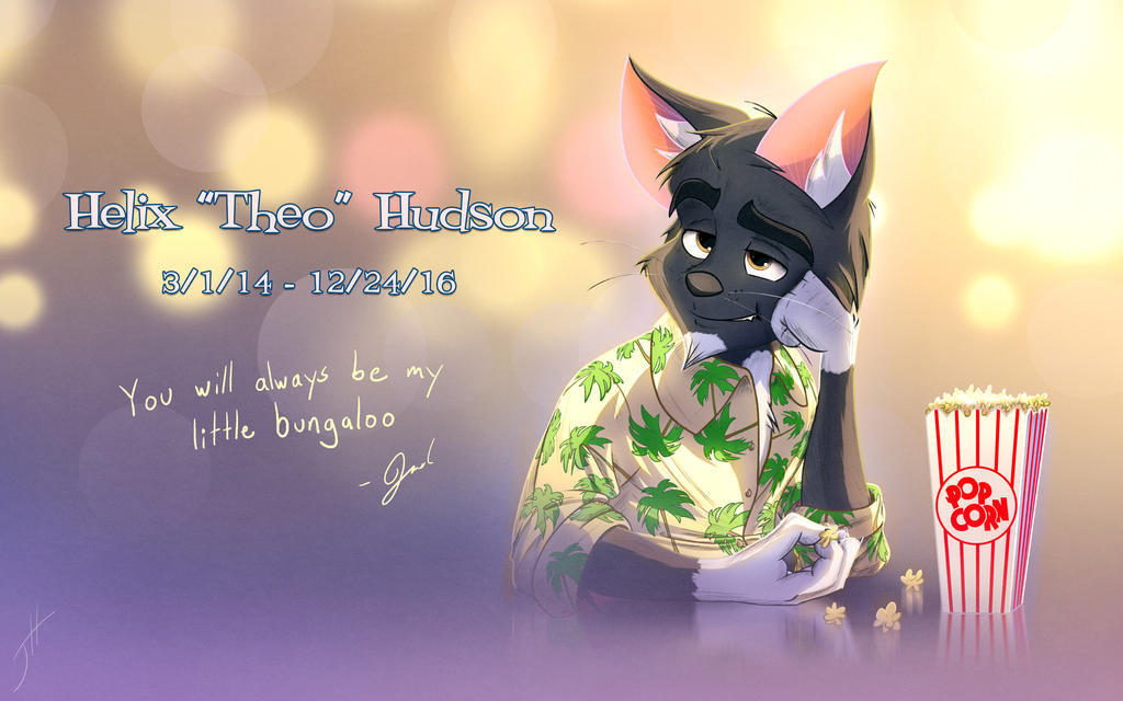 In Memory of Helix Theo Hudson by cashmeresky