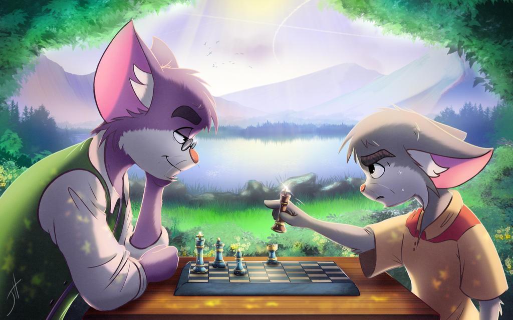 Checkmate? by cashmeresky