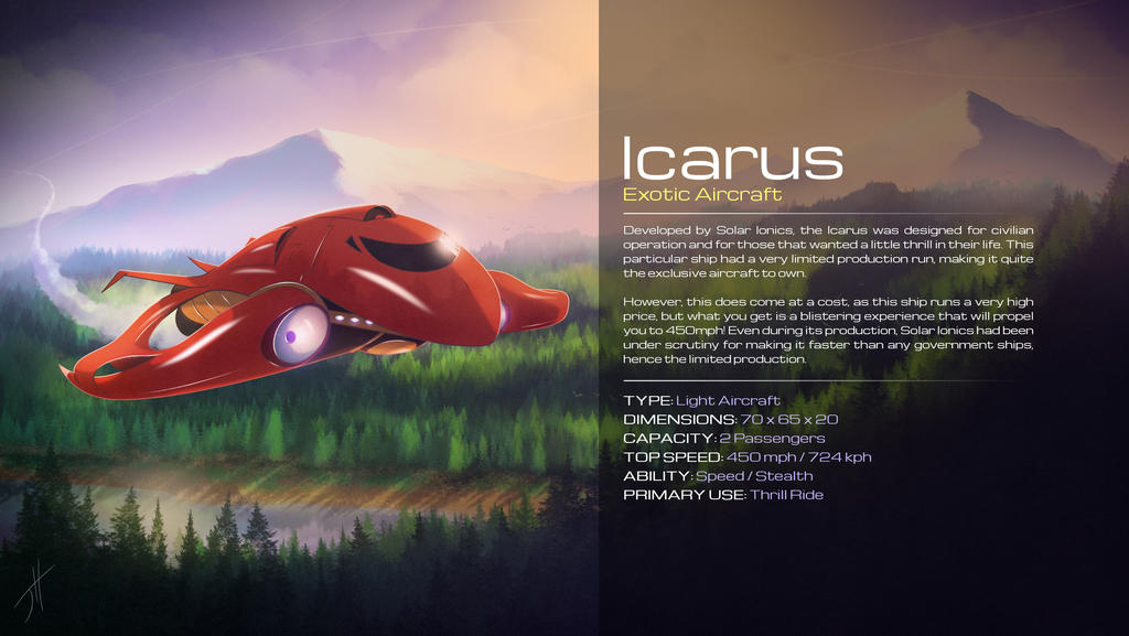 Icarus Ship 2018 Design by cashmeresky on DeviantArt