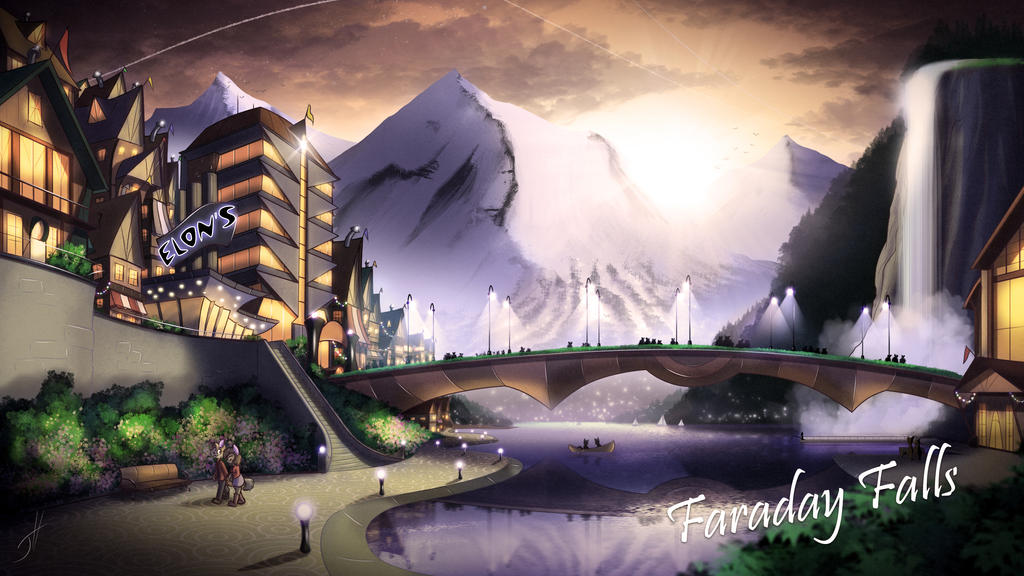 Faraday Falls by cashmeresky