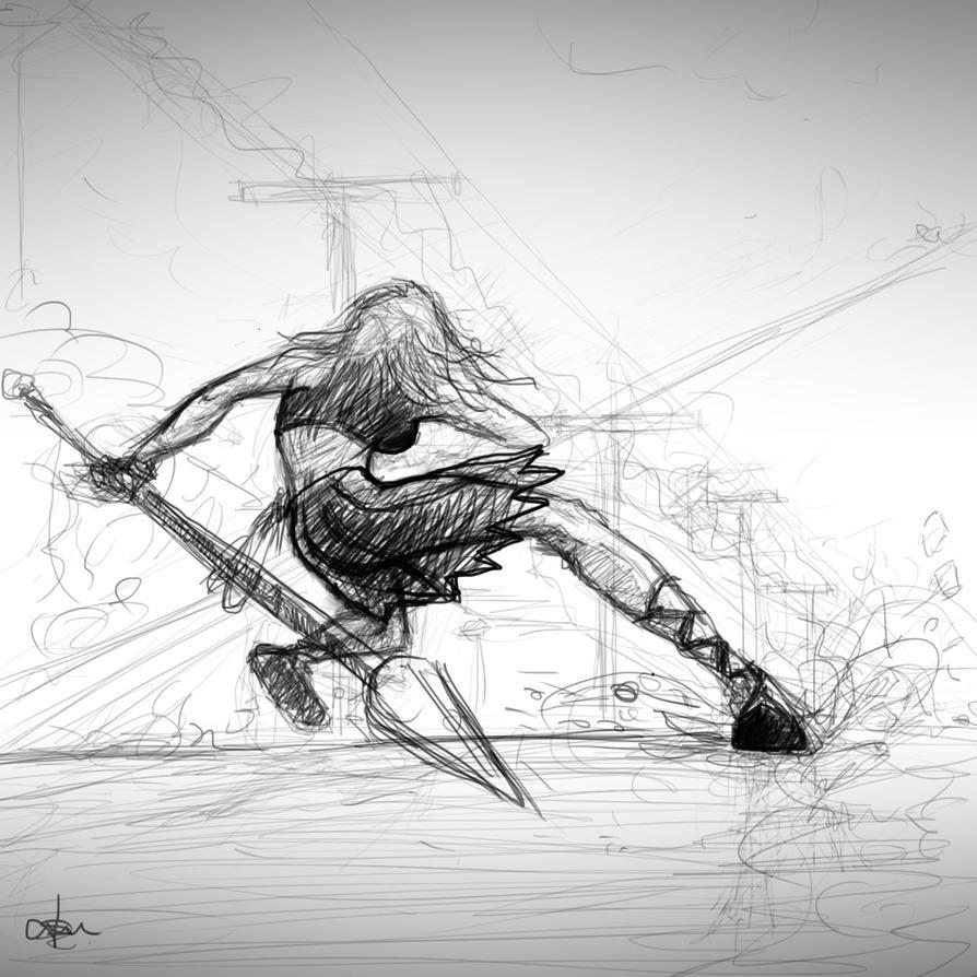 Fun Sketch Proccess by Mediaarchh
