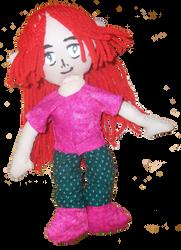 10 inch Arora Arum doll