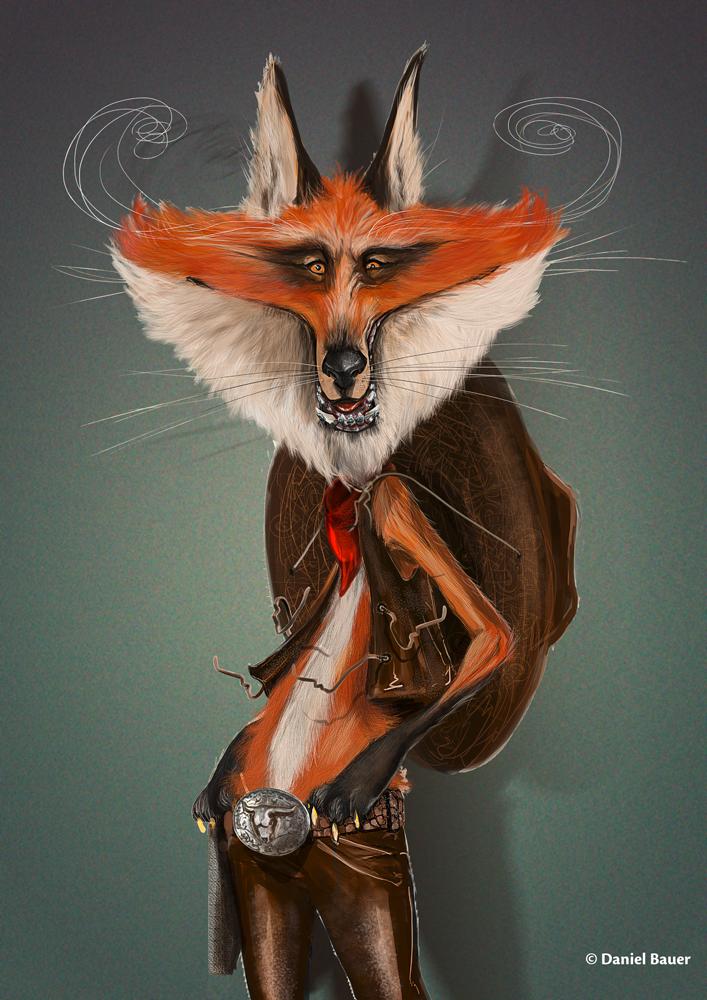Fox by danielgrell23