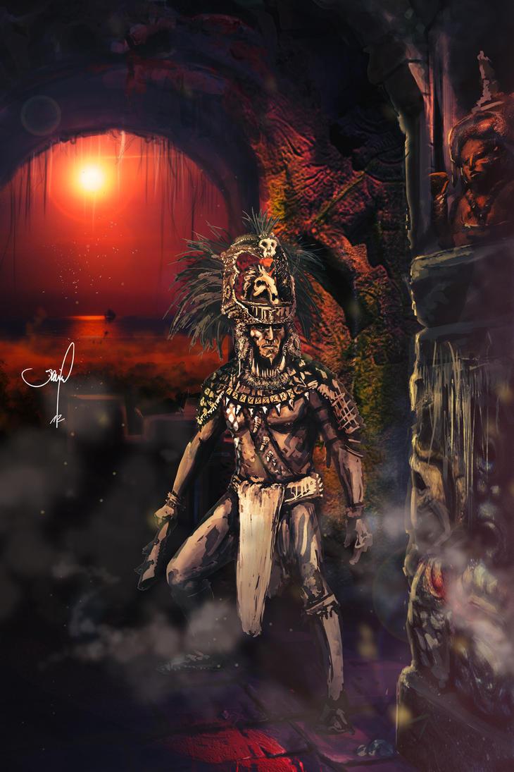 maya warrior by danielgrell23