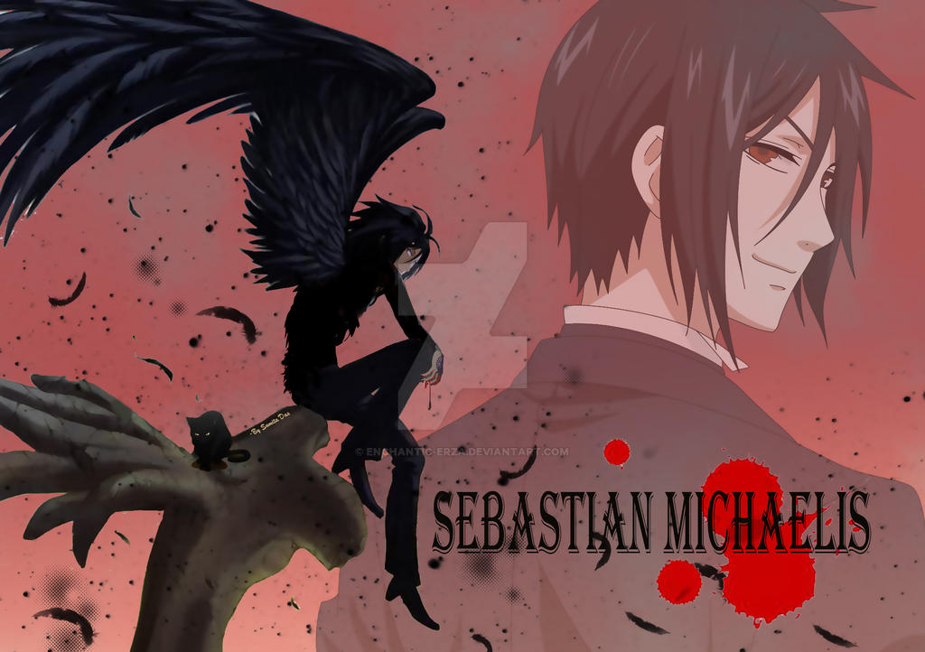 Sebastian michaelis true demon form by enchantic-erza on DeviantArt