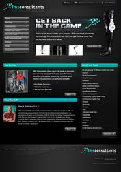 IMS Consultants Website by Pinwizkid