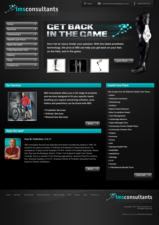 IMS Consultants Website