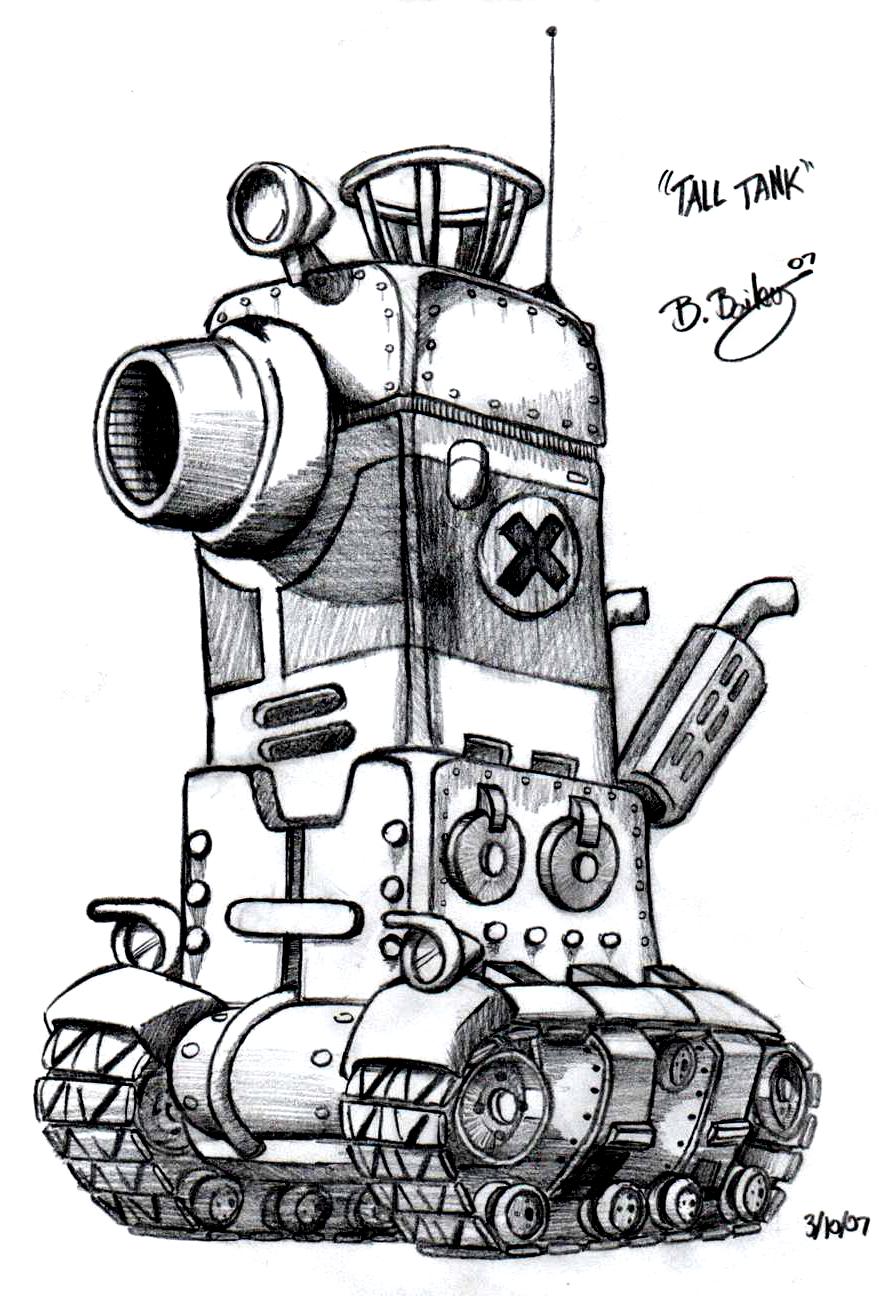 Metal Slug Tall Tank