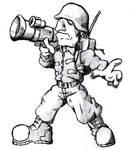 Metal Slug Bazooka Soldier