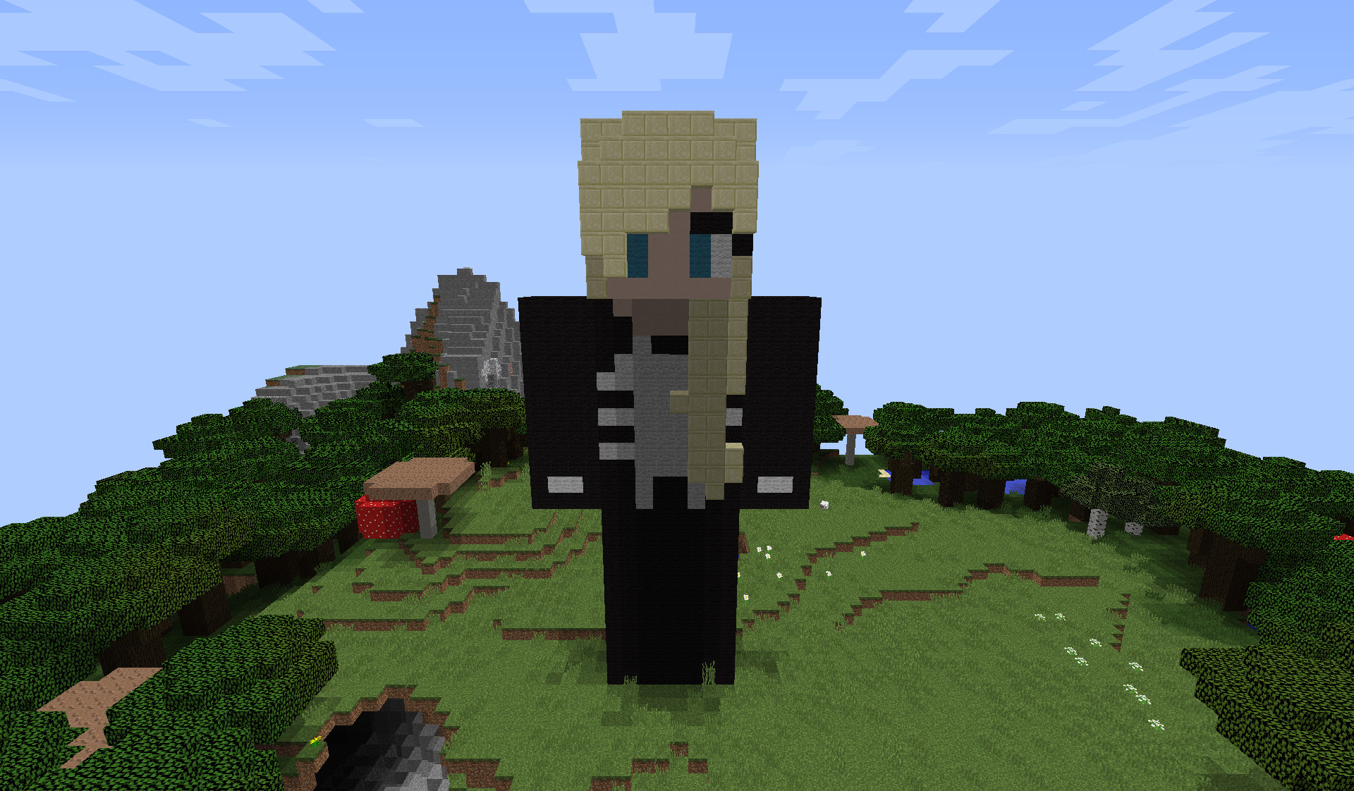 how to make statues in minecraft