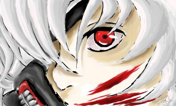 Bloodlust eyes - Kaneki