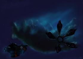 Blue Nebula by RatRacer290