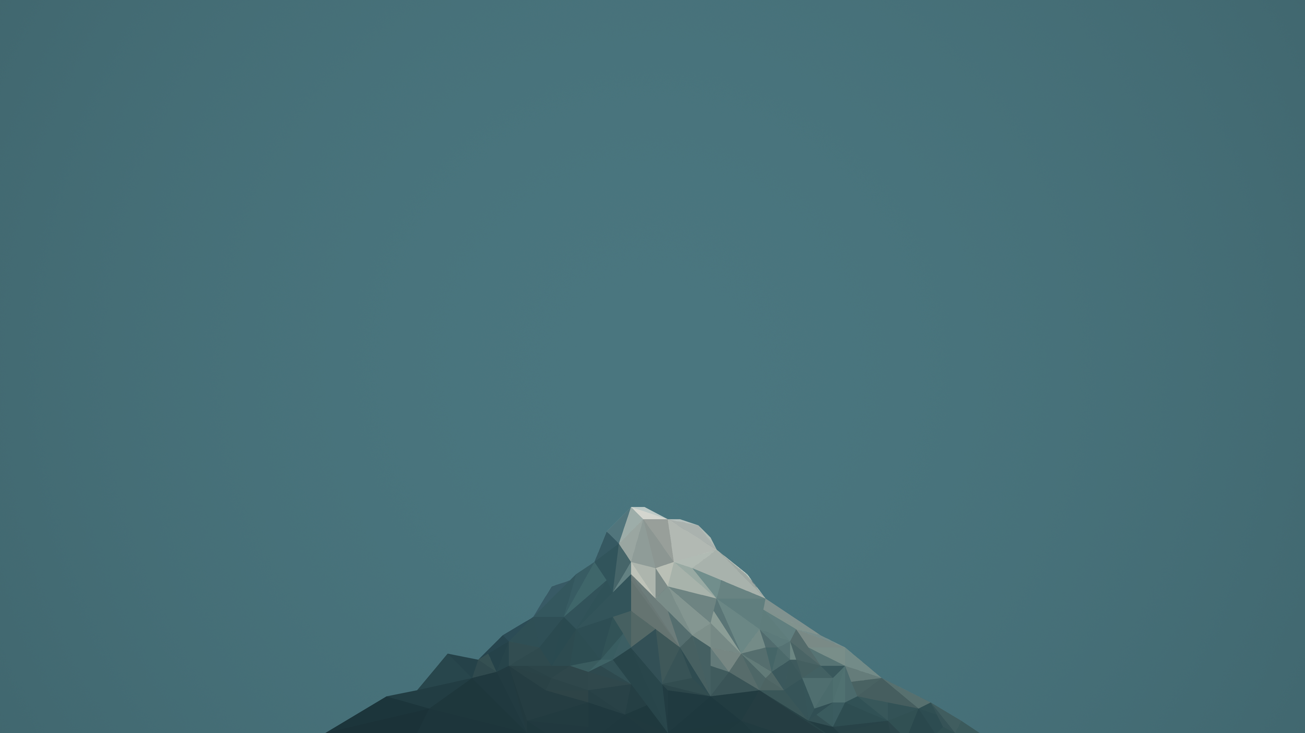 Low poly mountain by photosoups on deviantart for Minimal art landscape