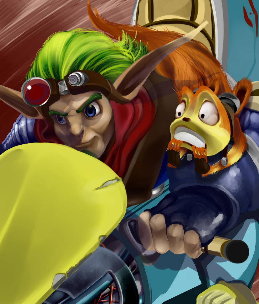 Jak And Daxter By Lycanthro54
