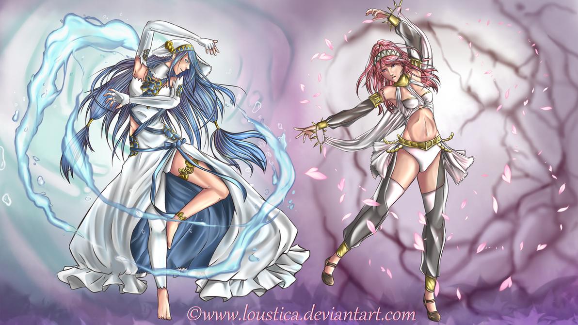 FE: Azura and Olivia [Wallpaper//2K]
