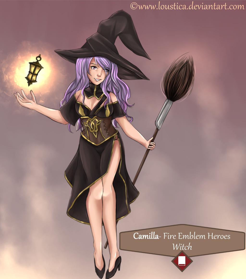 Fe heroes camilla halloween fan design by loustica on for Fe camilla