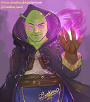 FE:A - Shrek as Grima {BRACE YOURSELVES}