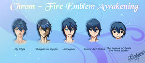 FE:A - Chrom in 5 different art styles!