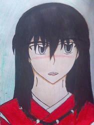 Inuyasha Blushing By Animecrazyfreak13 On Deviantart