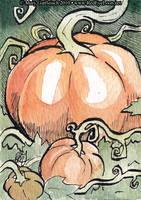 Halloween Pumpkins by RedEyeLoon
