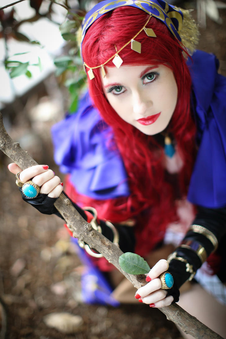 Nanai - The Foreign Psychic by SweetSkitty