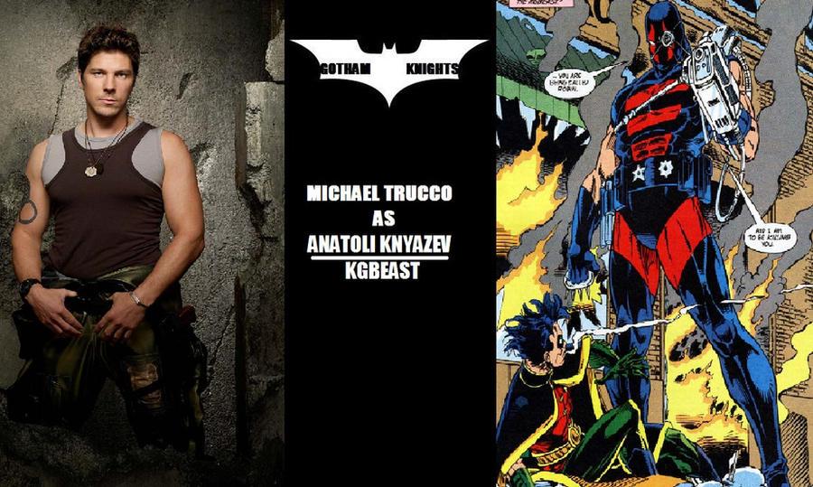Gotham Knights T V  Series Fan Cast - KGBeast V 1 by