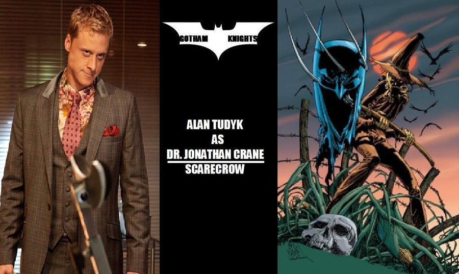 Gotham Knights T V  Series Fan Cast - J  Crane V 1 by