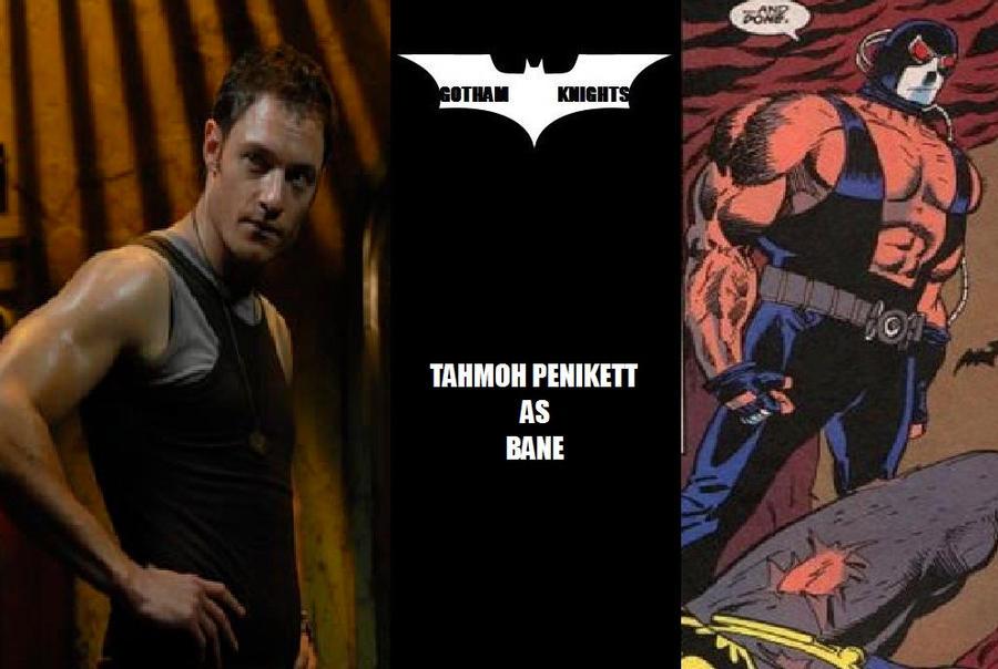 Gotham Knights T V  Series Fan Cast - Bane V 1 by