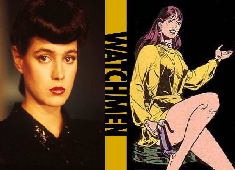 My 80's Watchmen Film Cast - Silk Spectre 2 by ... Watchmen Characters Silk Spectre