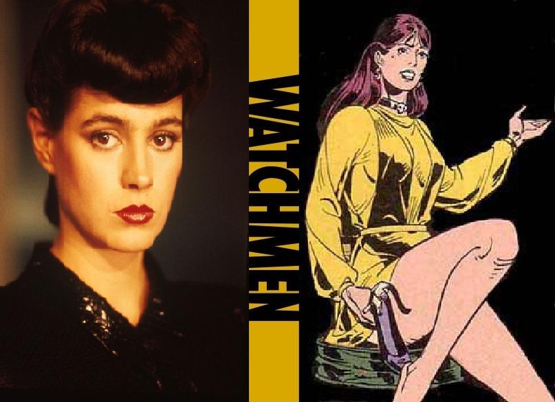 My 80's Watchmen Film Cast - Silk Spectre 2 by ... Watchmen Characters Silk Spectre