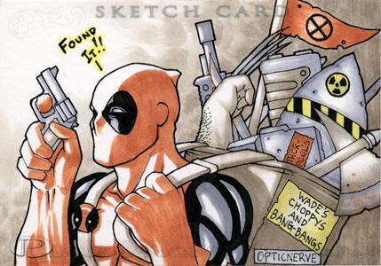 Marvel Premier - Deadpool by theopticnerve