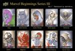 Marvel Beginnings 3 - Set 1