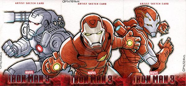 Iron Man 3 - The Iron Squad by theopticnerve