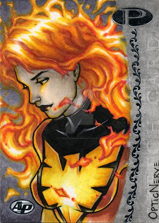 Marvel Premier - Dark Phoenix Artist Proof by theopticnerve