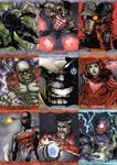 Marvel Masterpieces 2016 - Set 2 by theopticnerve