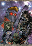 Marvel Masterpieces 2016 - Guardians of the Galaxy