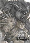 Hallowe'en 3 - Demoness Warrior