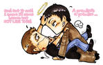 SPN Dean-Castiel Not like this