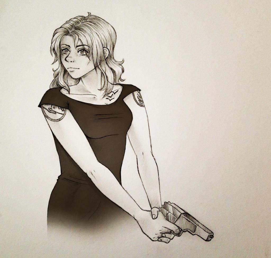 Divergent Fan Art Deviantart Tris - Divergent by ma...