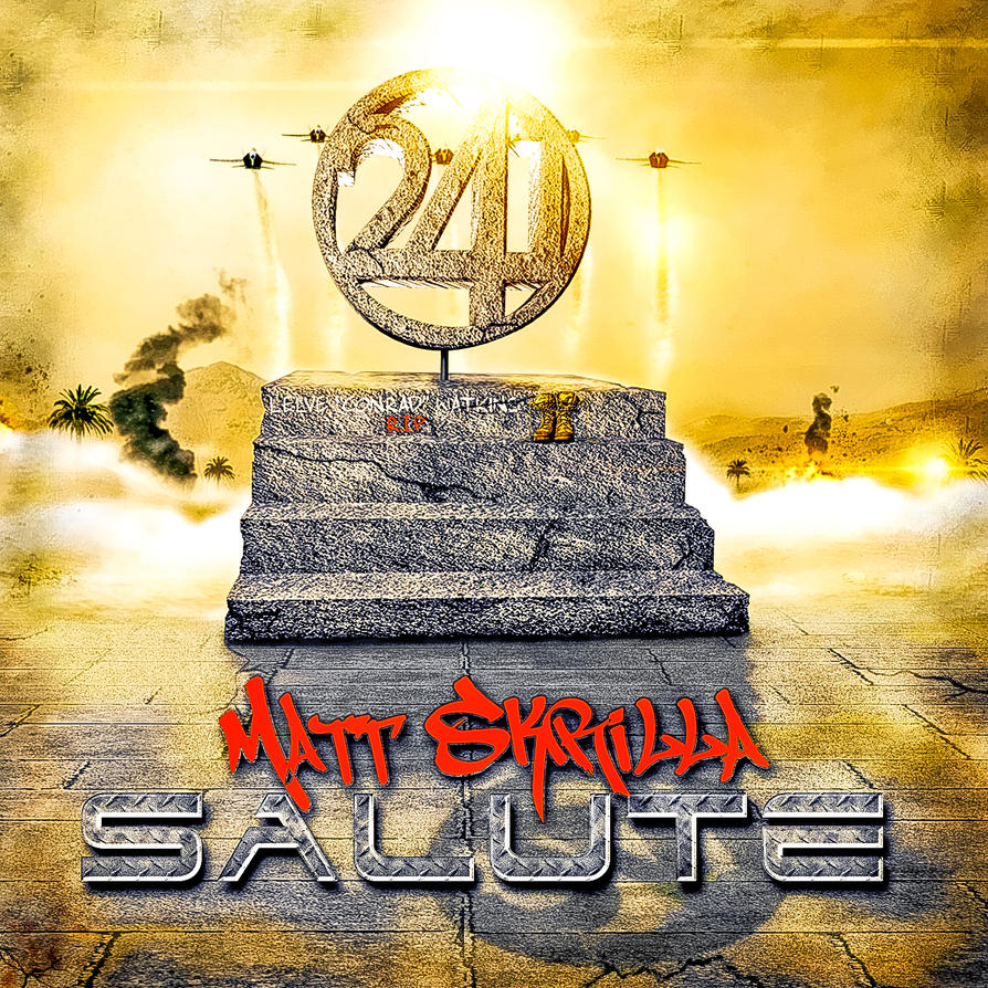 Matt Skrilla - Salute  (Album Cover) by Qvisions