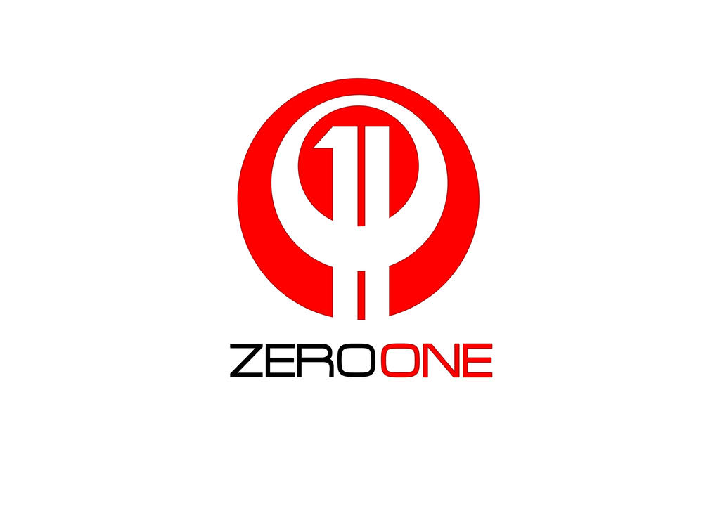 Zero One Logo By Qvisions