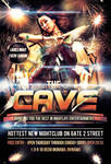 The Cave Grand Opening Flyer