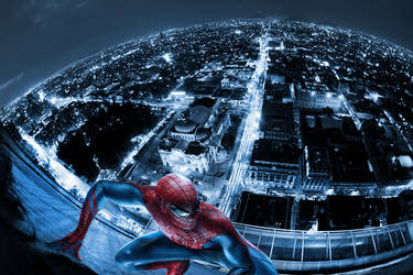 Spiderman BellasArtes Mexico by Mrbside