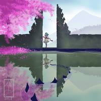 Last Girl Infinity Painting