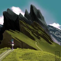 Last Girl Mountain by HexCH